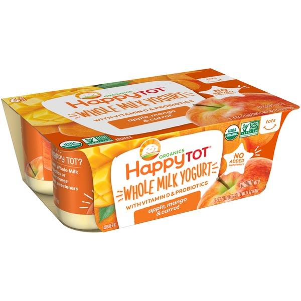 Happy Tot Whole Milk Yogurt