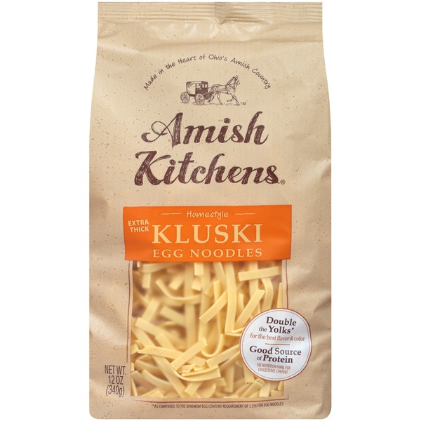 Amish Kitchens Homestyle Extra Thick Kluski Egg Noodles from