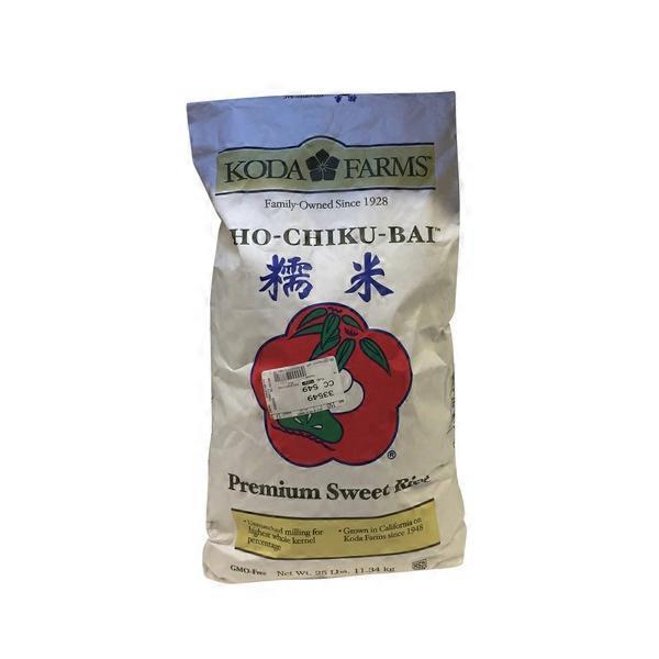 Koda Farms Sho Chiku Bai Premium Sweet Rice 25 Lb Instacart