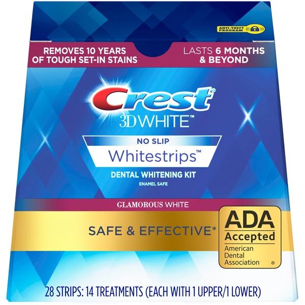 Crest Base Crest 3D White No Slip Whitestrips Dental Whitening Kit