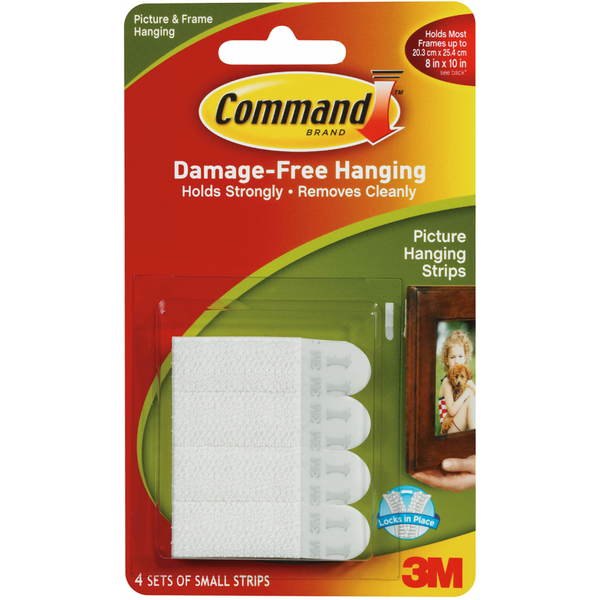 3m Command Small Picture Hanging Strips Each From Fred Meyer