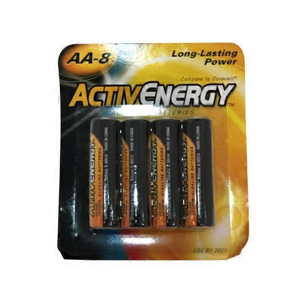 activ energy aa alkaline batteries 8 ct from aldi. Black Bedroom Furniture Sets. Home Design Ideas