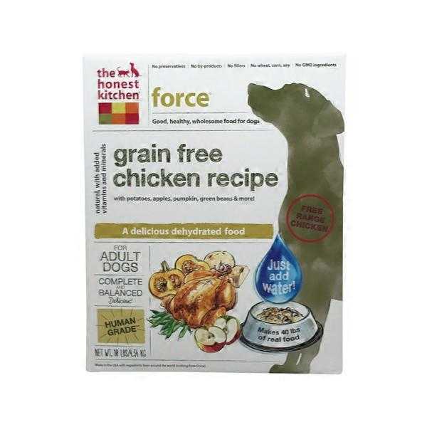 Ordinaire The Honest Kitchen Force Grain Free Chicken Recipe Dehydrated Dog Food