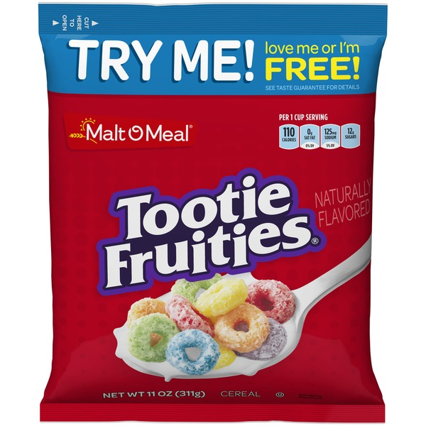 Malt O Meal Tootie Fruities Cereal 11 Oz From Food King