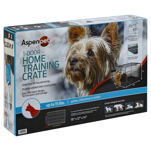 Aspen Pet Home Training Wire Kennel Up To 15 Lbs (each) from ...