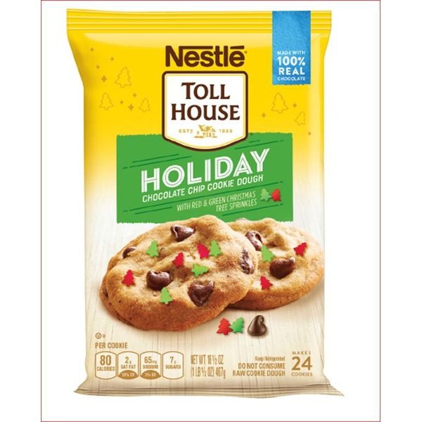 Toll House Toll House Holiday Chocolate Chip Nestle Toll House