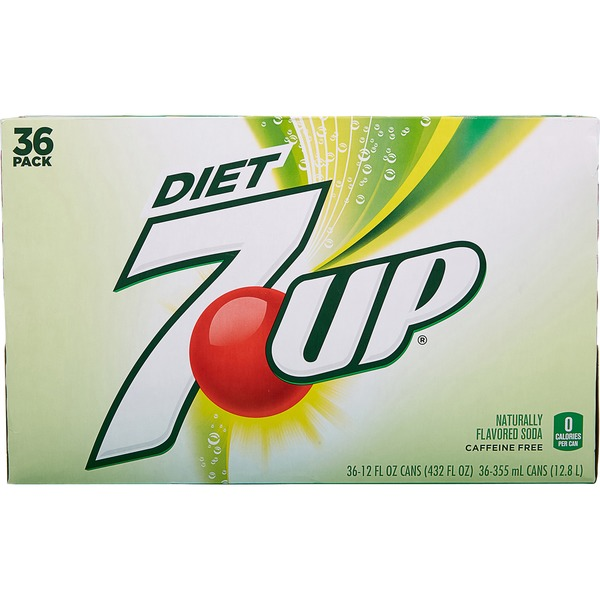 Diet 7up Lemon Lime Soda 12 Fl Oz From Costco Instacart