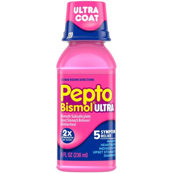 Pepto Bismol Original Ultra Liquid For Nausea Heartburn