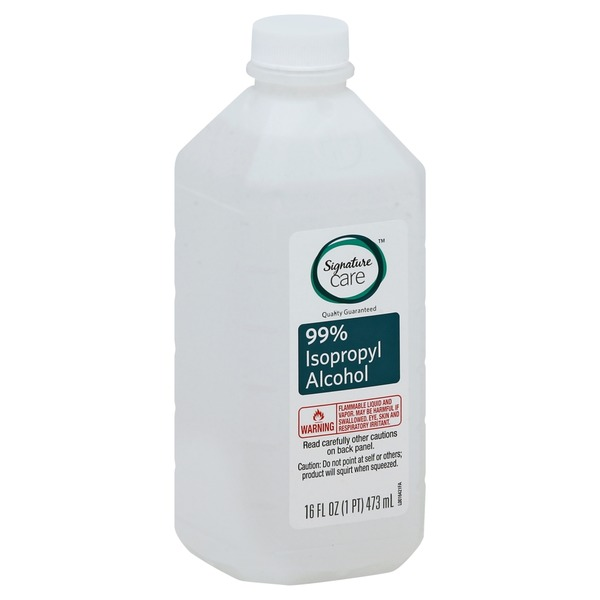 Safeway Isopropyl Alcohol, 99% (16 oz) from Albertsons