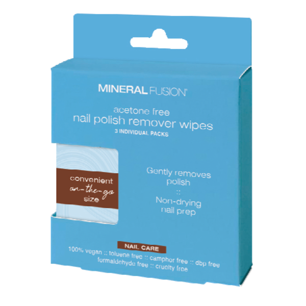 Mineral Fusion Acetone Free Nail Polish Remover Wipes from Sprouts ...