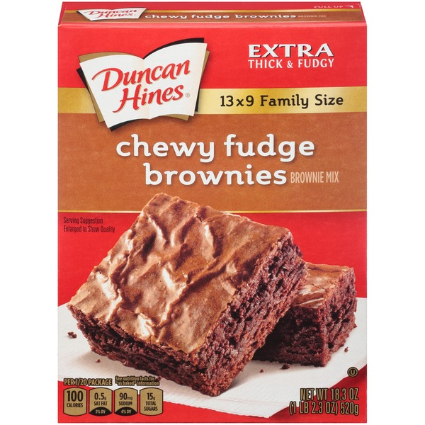 Duncan Hines Chewy Fudge Brownie Brownie Mix From Kroger Instacart
