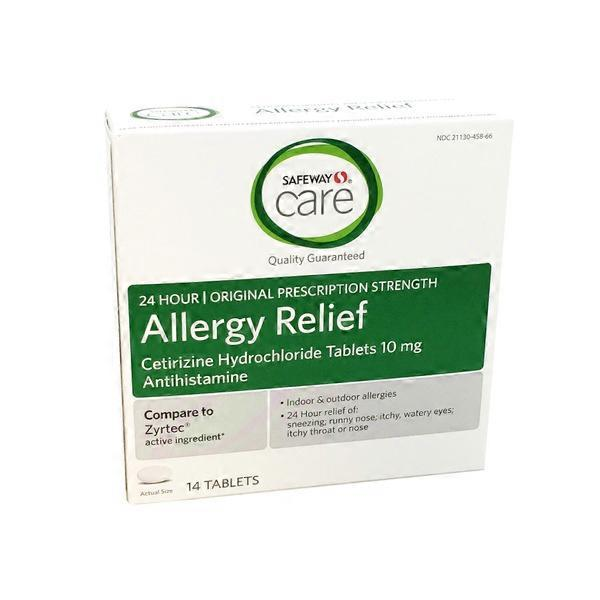 Signature Care Allergy Relief Tablets