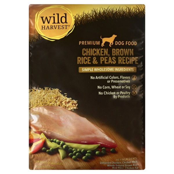 Wild harvest brown rice dog food chicken pea 14 lb from cub wild harvest brown rice dog food chicken pea forumfinder Choice Image