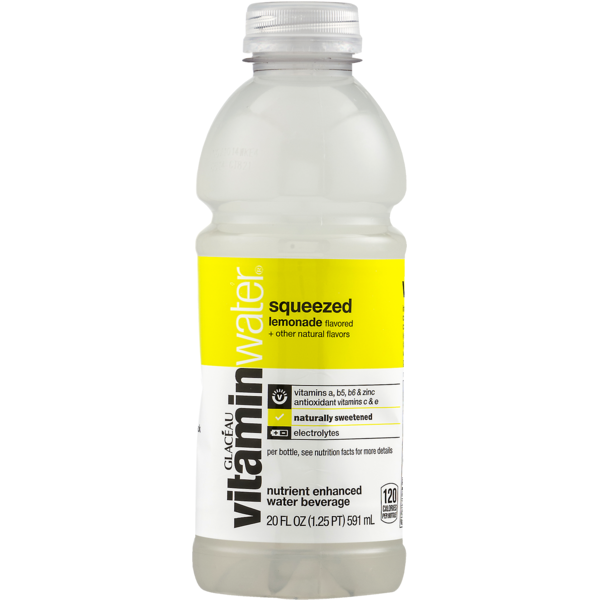vitaminwater Squeezed Lemonade (20 fl oz) from Stater Bros