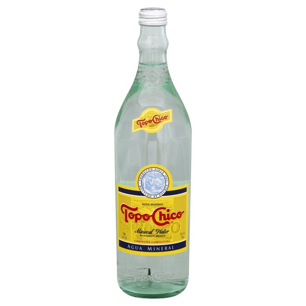 Topo Chico Mineral Water, Carbonated (25 4 oz) from Sprouts