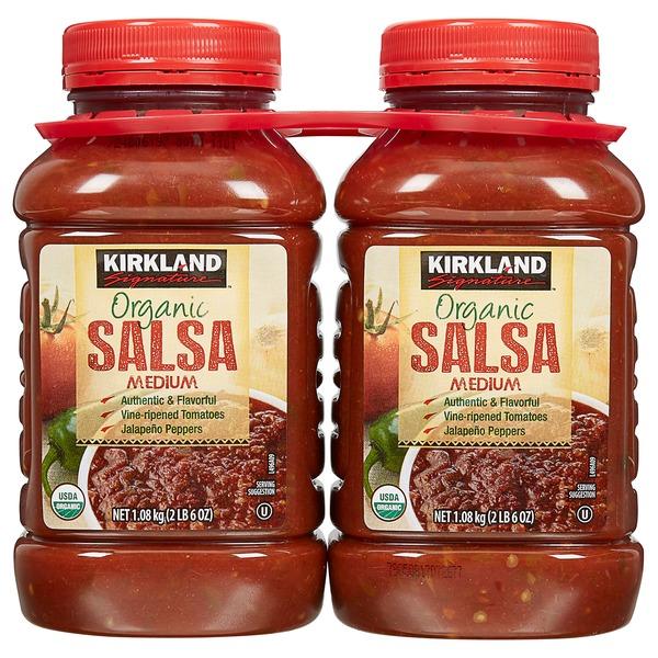 Kirkland Signature Organic Salsa 38 Oz
