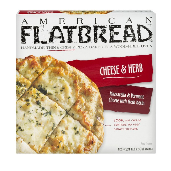 American Flatbread Pizza Cheese Herb