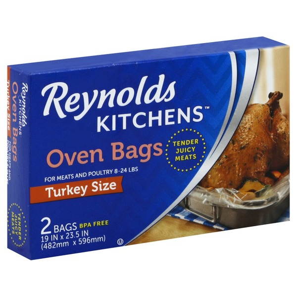 Reynolds Kitchens Oven Bags, Turkey Size (2 ct) from El ...