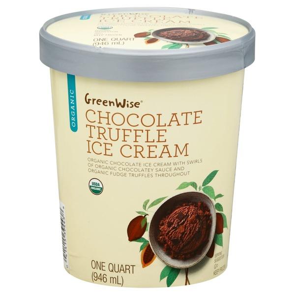 Greenwise Ice Cream Organic Chocolate Truffle 1 Qt Instacart
