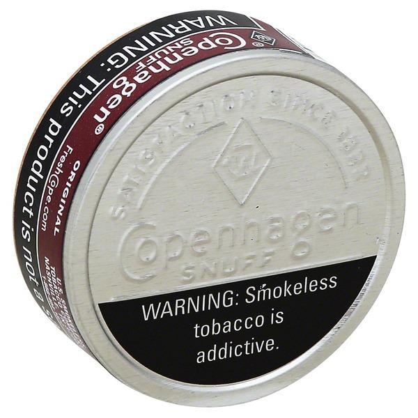 Copenhagen Snuff, Original (1 2 oz) from Price Chopper - Instacart