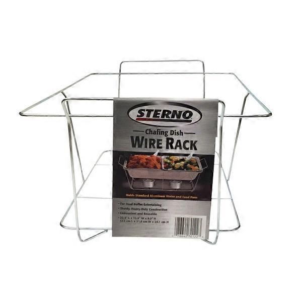 Chafing Dish Rack Fascinating Sterno Chafing Dish Wire Rack Each From Costco Instacart