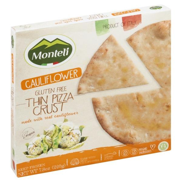 Monteli Pizza Crust, Gluten Free, Thin