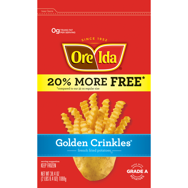 Ore Ida Golden Crinkles Potatoes French Fried (38 4 oz) from Jewel