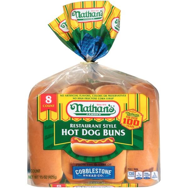 White Hot Dog Bun Nutrition Facts