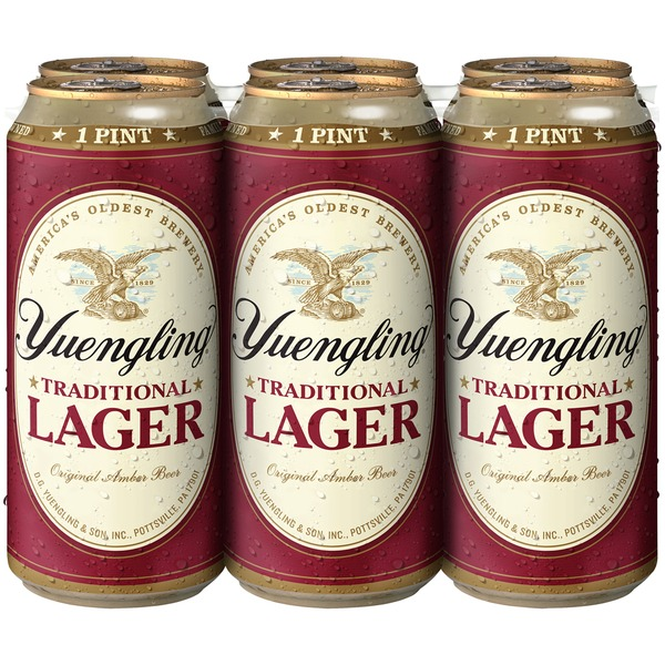 Yuengling Traditional Beer (16 fl oz) from Food Lion - Instacart