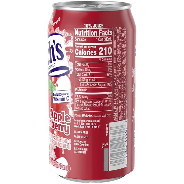 Welch's Apple Cranberry Juice Drink (11 5 oz) from Hy-Vee - Instacart