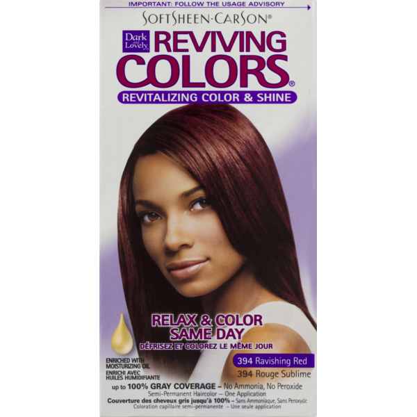 Dark And Lovely Reviving Colors Revitalizing Color Shine 394