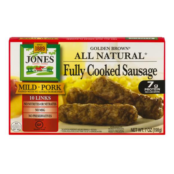 recipe: jones turkey sausage nutritional information [12]