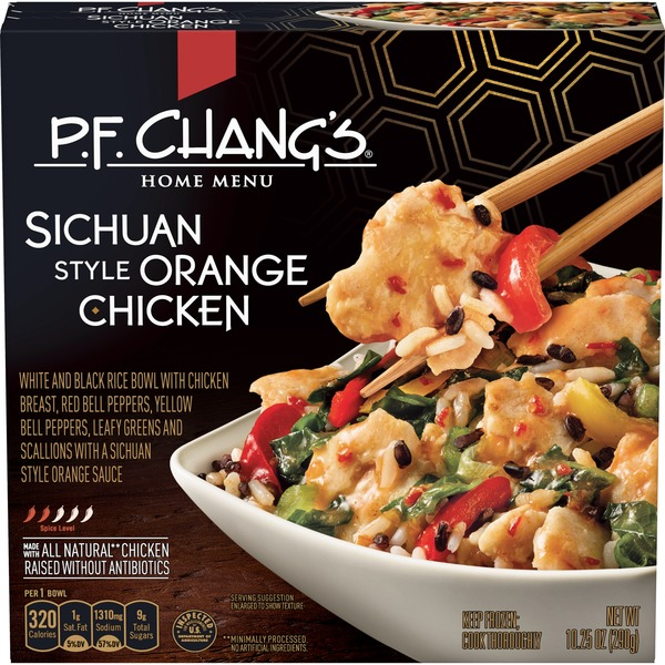 P F Chang S Sichuan Orange Chicken 10 25 Oz Instacart