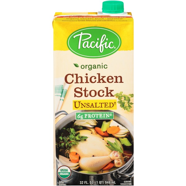 Pacific Unsalted Chicken Stock From Whole Foods Market Instacart