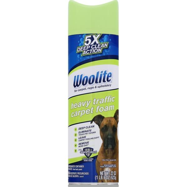Woolite Carpet Foam Heavy Traffic 22 Fl Oz Instacart