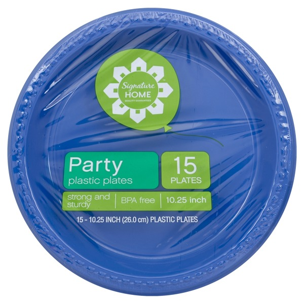 Signature Home Party 10.25 inch Plastic Plates  sc 1 st  Instacart & Signature Home Party 10.25 inch Plastic Plates from Safeway - Instacart