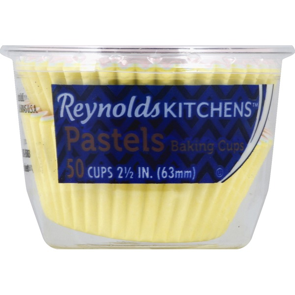 Reynolds Baking Cups, Pastels, 2-1/2 Inches