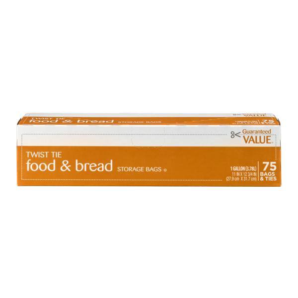 Guaranteed Value Twist Tie Food u0026 Bread Storage Bags - 1 Gallon  sc 1 st  Instacart & Guaranteed Value Twist Tie Food u0026 Bread Storage Bags - 1 Gallon ...