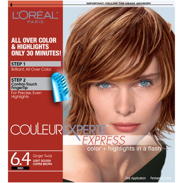 Couleur Experte Express Red Ginger Twist Light Golden Copper Brown