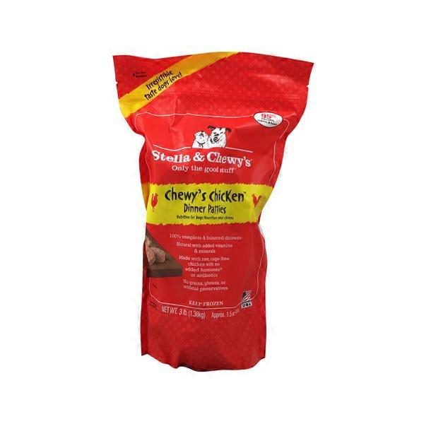 Stella Chewys Chewys Chicken Dinner Patties Dog Food 3 Lb From