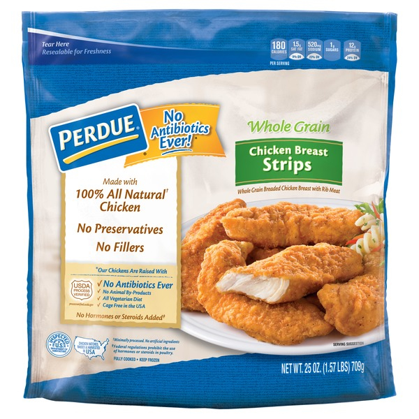 Perdue Chicken Breast Strips 156 Lb From Food Lion Instacart