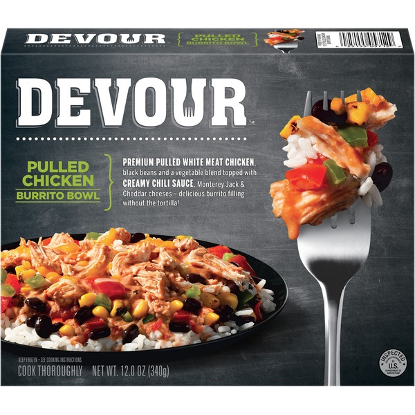 Devour Pulled Chicken Burrito Bowl Devour Pulled Chicken Burrito