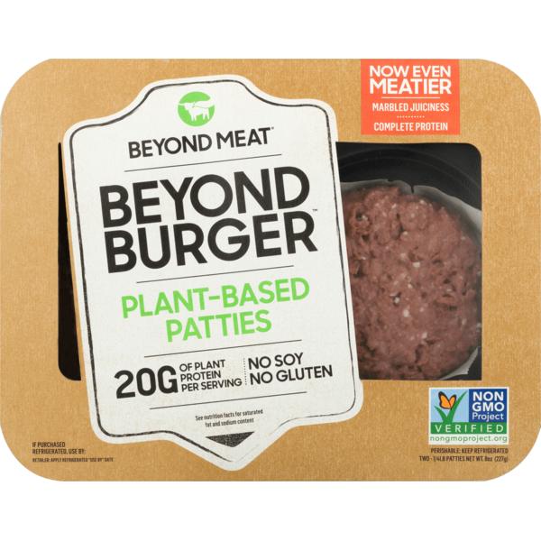 ingredients in the beyond burger