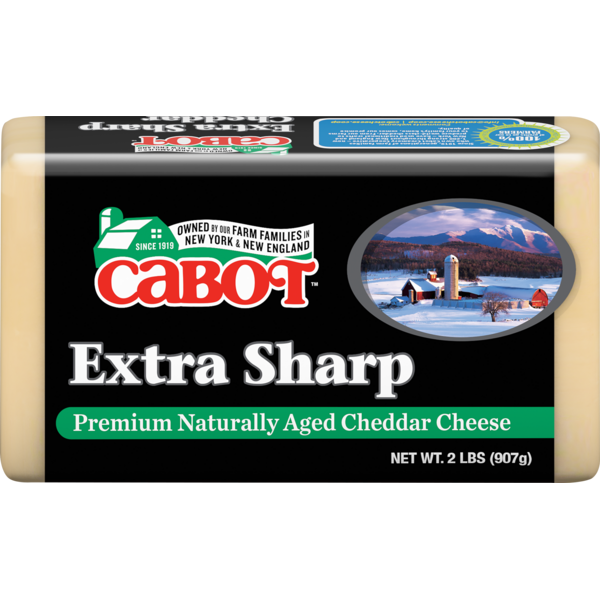 Cabot Creamery Extra Sharp Cheddar Cheese (2 lb) from Stew