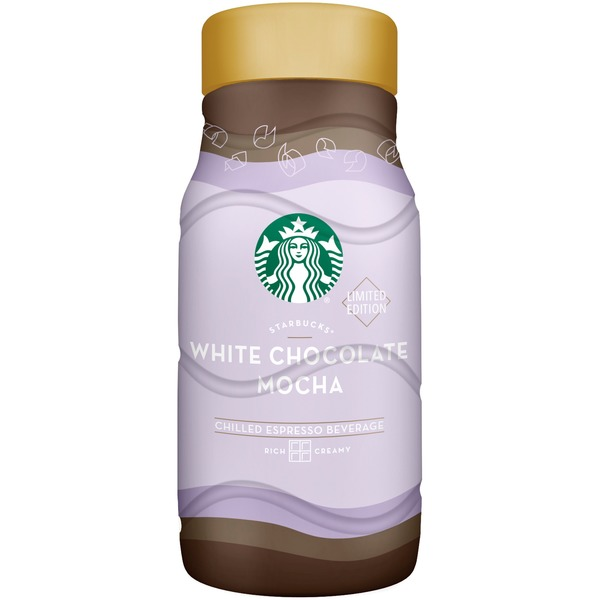 Starbucks Iced Expresso White Chocolate Mocha Chilled