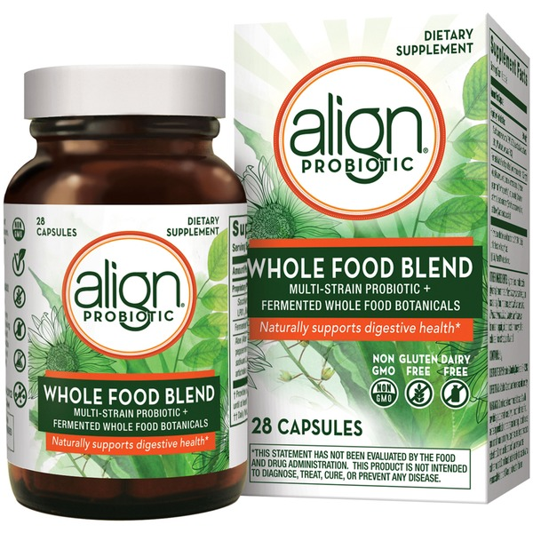 Align Probiotic Whole Food Blend Capsules Dietary Supplement (28 ct