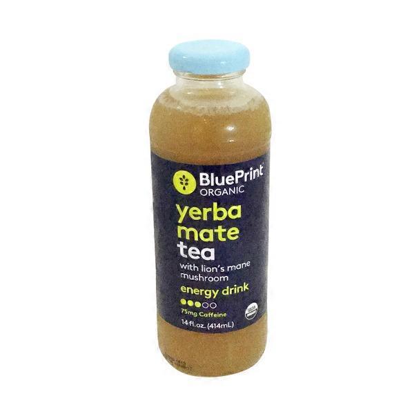 Blueprint juice organic yerba mate tea with lions mane mushroom blueprint juice organic yerba mate tea with lions mane mushroom energy drink malvernweather Gallery
