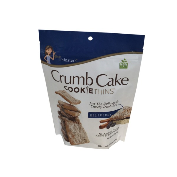 Mrs Thinsters Cookie Thins Crumb Cake Blueberry
