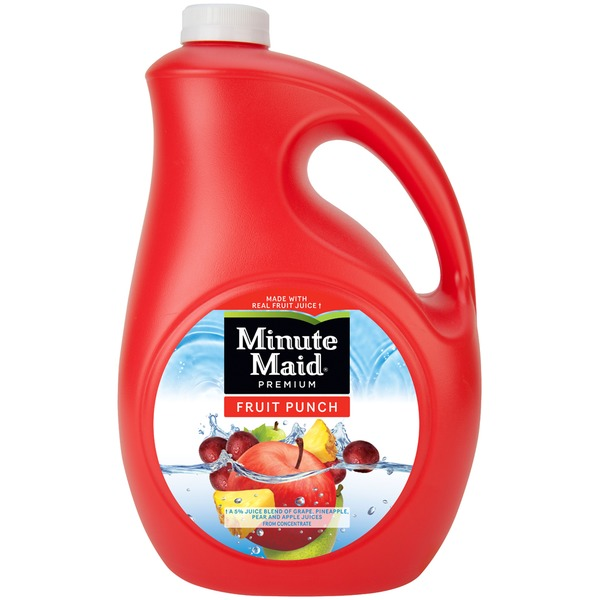 is pineapple a fruit minute maid fruit punch