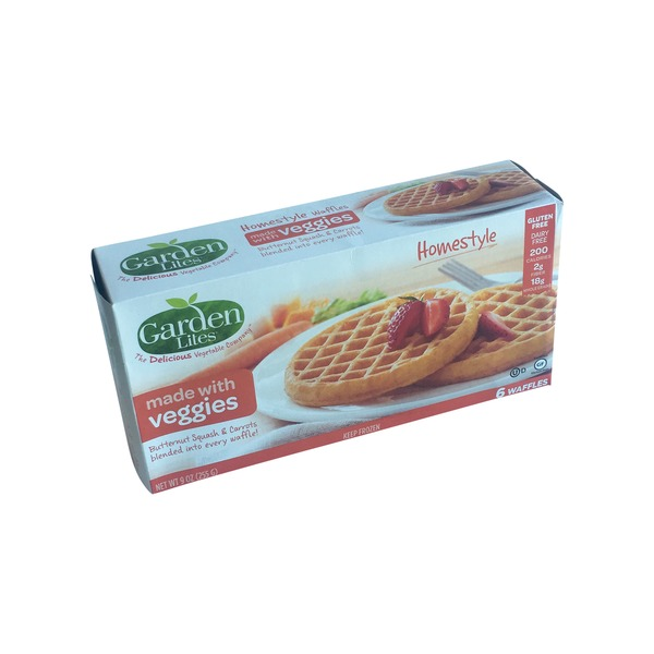 Garden Lites Waffles Homestyle 6 Each From Giant Food